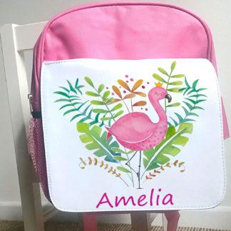 flamingo back pack