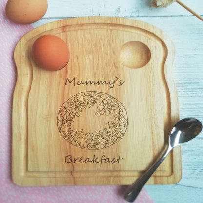 mummy's breakfast board