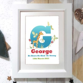 Personalised Letter Name Art