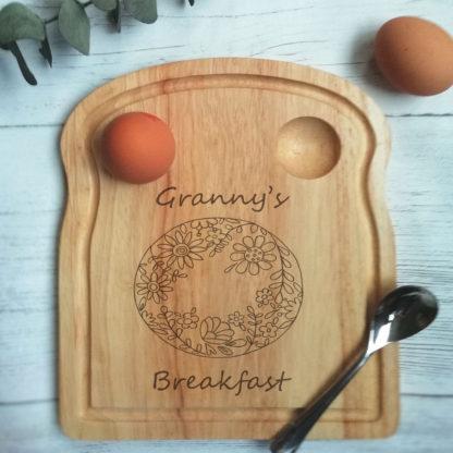 Granny breakfast board