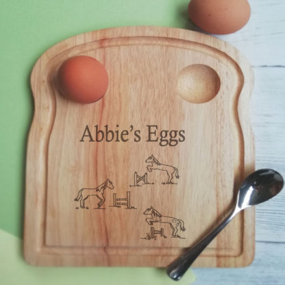 Horse egg board
