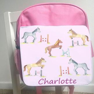 personalised girls bag