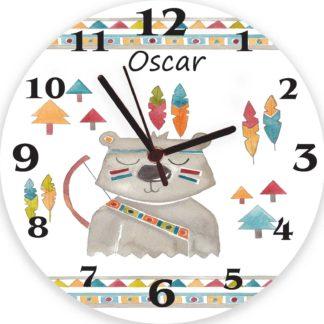 Indian Bear Clock