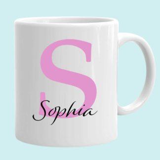 Initial Name Mug