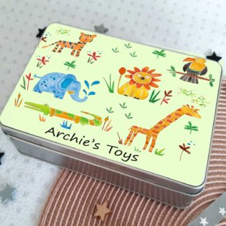 Jungle Animal Tin