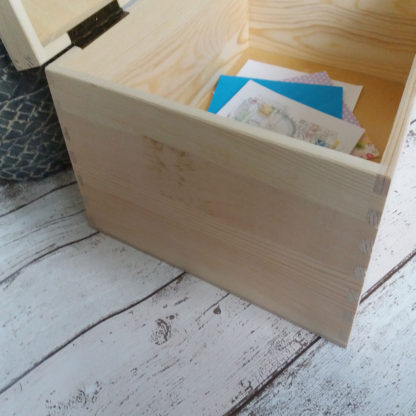 Personalised Wooden Keepsake Box