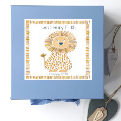 Boys Blue Memory Box