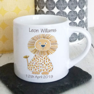 personalised christening cup