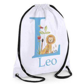 Boys Personalised swim bag
