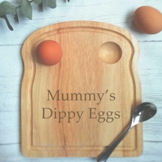 Mummy's dippy eggs