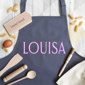 Kids Personalised Apron Baking Sets