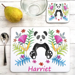 Panda Table Mat