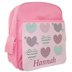 girls personalised ruck sack