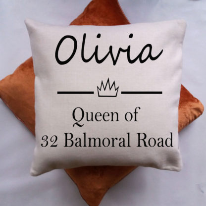 personalised cushion for mum