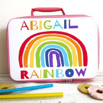 Rainbow Lunch Bag