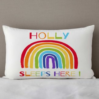 Rainbow Personalised Pillow