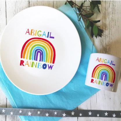 Rainbow Breakfast Set
