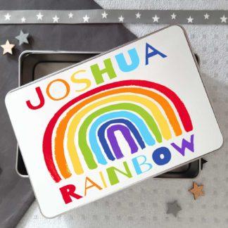 Rainbow Tin