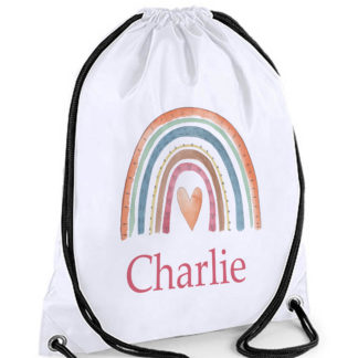 Rainbow Swim Bag