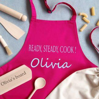 cooks personalised apron