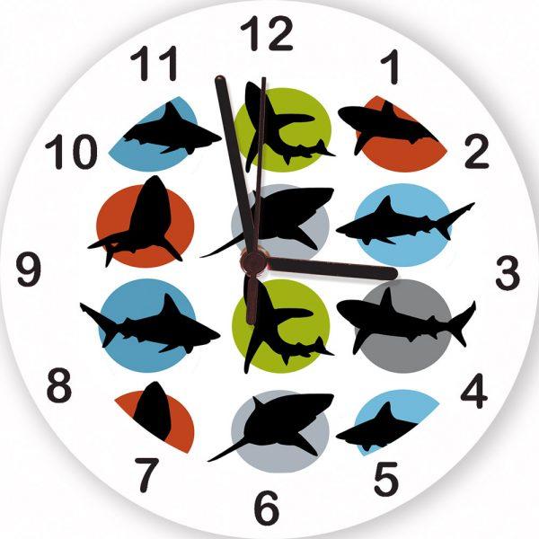 boys personalised clock