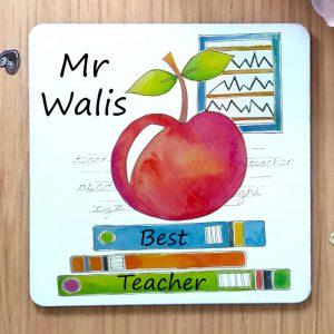 personalised teacher gift