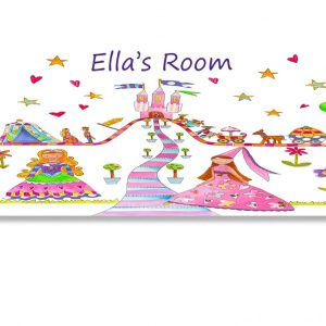 GIrls Room Name Sign