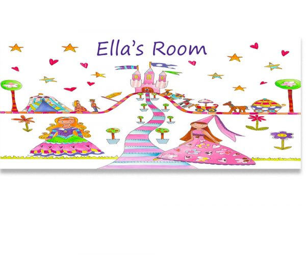 GIrls Room Name Sign