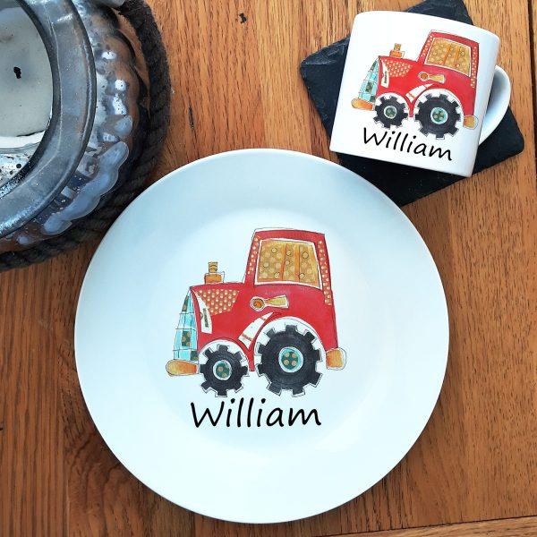 personalised chirstening ceramics