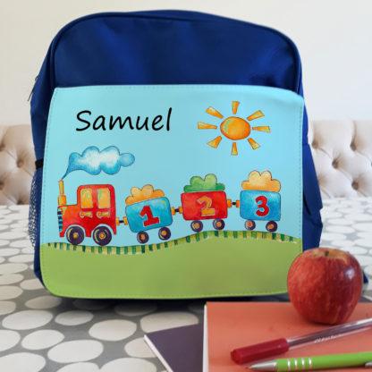 personalised boys Backpack