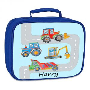 personalised boys lunch bag