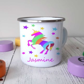 Unicorn-Stripe-Camping-Mug