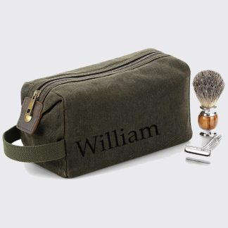 Personalised Wash Bag For Dad