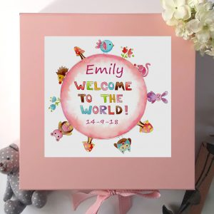 Children's personalised Keepsake Box