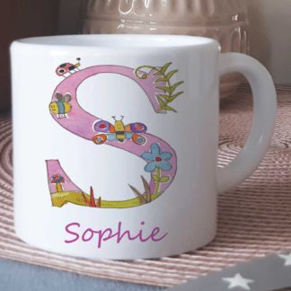 Girls Letter Cup