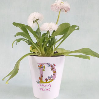 Personalised Girl's Plant Pot