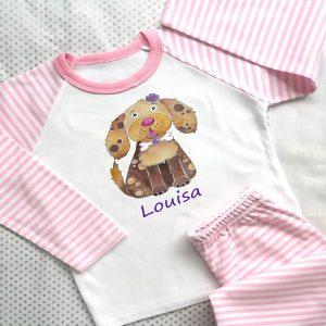 Personalised Girls nightwear