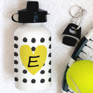 Yellow Heart Bottle