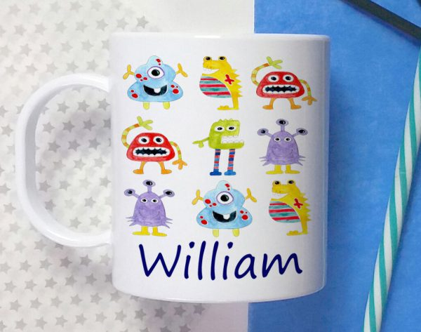 boys personalised cup