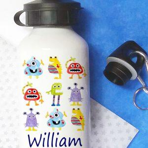 metal water bottle