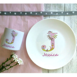 Girl's Breakfast Dinner Set