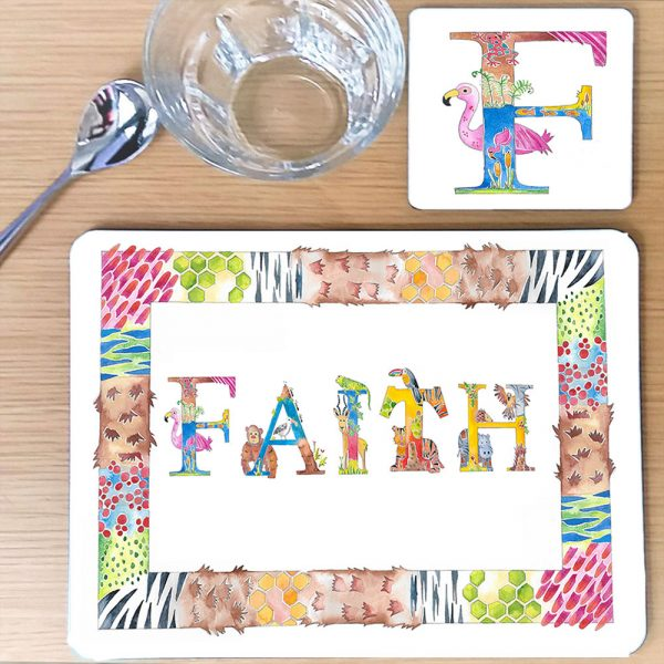 toddler placemat