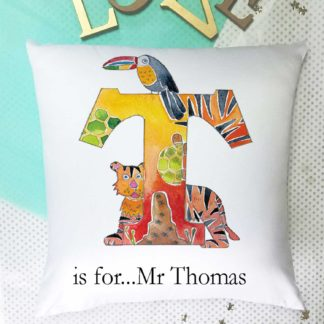 tigerlilyprints Personalised Cushion Girls Gift A unicorns Tale Cushion Cushion with Pad 40 cm square