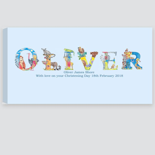 personalised picture for boys room decor