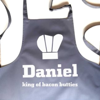 Apron for dad king of