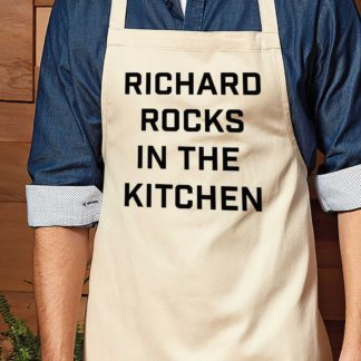 rocks in the kitchen dads apron