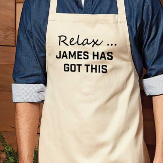 apron for dad