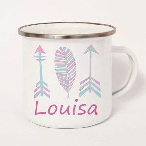 personalised tin mug