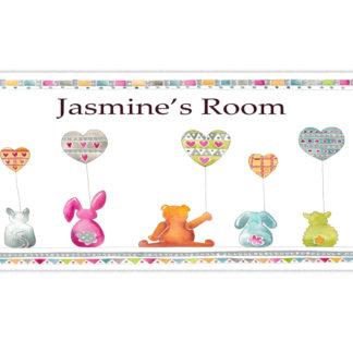 nursery room sign