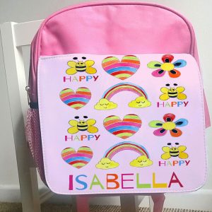 personalised school bag
